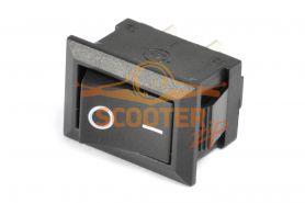 Выключатель KCD1-A, 2 контакта (2 положения)